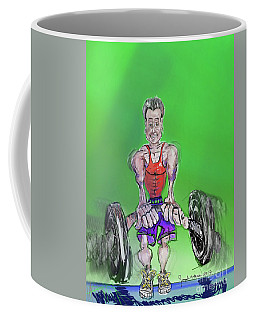 Green At Work Out West Coffee Mug