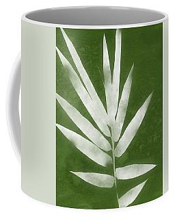 Green Bamboo 2- Art By Linda Woods Coffee Mug