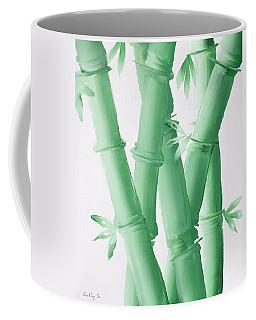 Green  Bamboo Coffee Mug