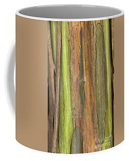 Coffee Mug featuring the photograph Green Bark 3 by Werner Padarin