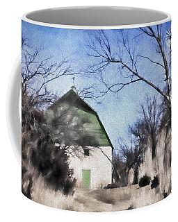 Green Barn Coffee Mug