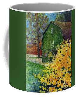 Green Barn Coffee Mug