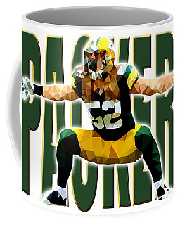 Green Bay Packers Coffee Mug by Stephen Younts
