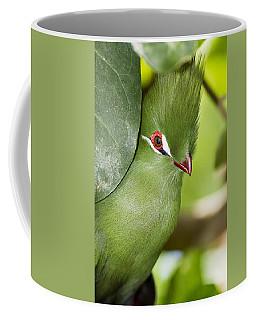Green Turaco Bird Portrait Coffee Mug
