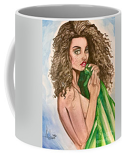 Green Blanket Coffee Mug