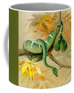 Green Boa Coffee Mug