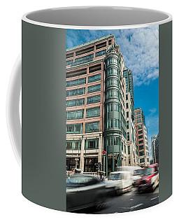 Green Building On Liverpool Metro Station London Coffee Mug