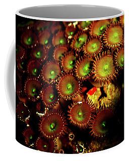 Green Button Polyps Coffee Mug