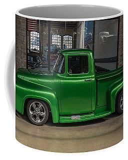 Green Car Coffee Mug