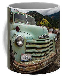 Green Chevy Coffee Mug