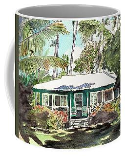 Green Cottage Coffee Mug