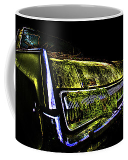Coffee Mug featuring the photograph Green Dodge Glory by Glenda Wright