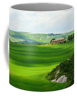 Green Escape In Tuscany Coffee Mug