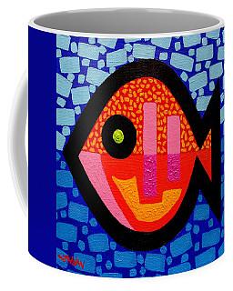Green Eyed Fish  Coffee Mug