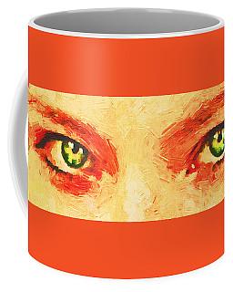 Green Eyed Witch. Coffee Mug
