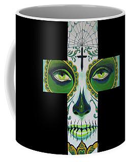 Green Eyes Coffee Mug