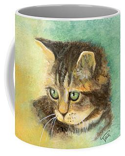 Green Eyes Coffee Mug by Terry Webb Harshman