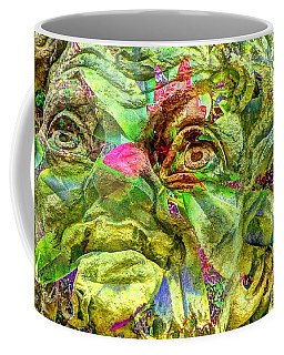 Green Face Coffee Mug