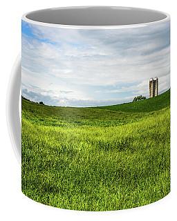 Green Field And Silos Coffee Mug