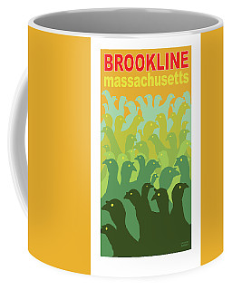 Green Fields Of Brookline Coffee Mug