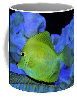 Green Fish Coffee Mug