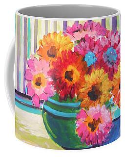 Green Glass Bowl Coffee Mug