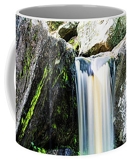 Green Glows On The Falls Coffee Mug