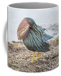 Green Heron 1334 Coffee Mug