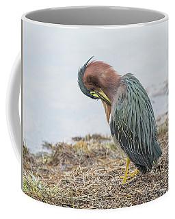 Green Heron 1337 Coffee Mug