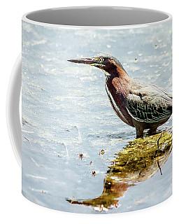 Green Heron Bright Day Coffee Mug