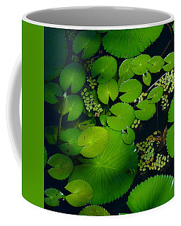 Green Islands Coffee Mug by Evelyn Tambour
