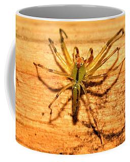 Green Jumping Spider Coffee Mug