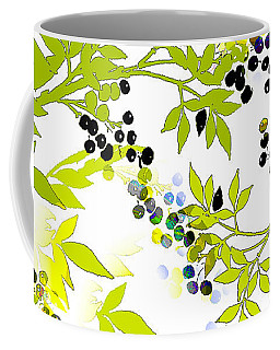 Green Leaf Spring Coffee Mug