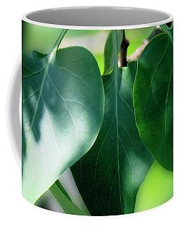 Green Leaves 2 Coffee Mug