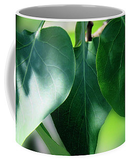 Green Leaves 2 Coffee Mug