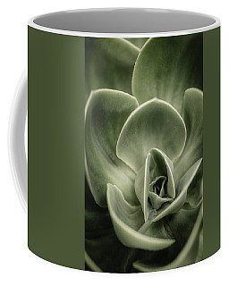 Coffee Mug featuring the photograph Green Leaves Abstract IIi by Marco Oliveira