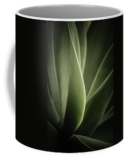 Coffee Mug featuring the photograph Green Leaves Abstract by Marco Oliveira