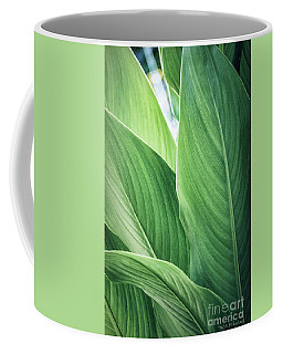 Green Leaves No. 2 Coffee Mug