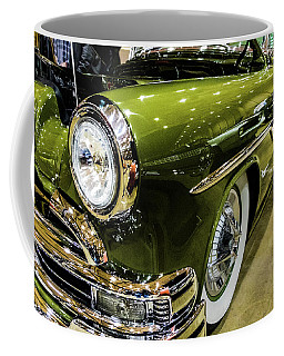 Coffee Mug featuring the photograph Green Machine by Jay Stockhaus