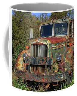 Green Mack Truck Coffee Mug