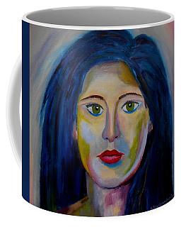 Green Magic Eyes Coffee Mug