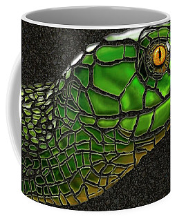 Green Mamba Snake Coffee Mug
