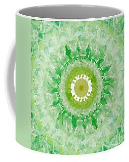 Green Mandala- Abstract Art By Linda Woods Coffee Mug