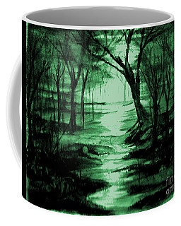 Green Mist Coffee Mug