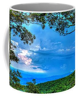 Green Mountain Storm Coffee Mug