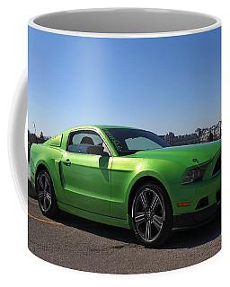 Green Mustang Coffee Mug