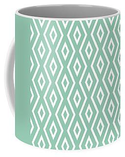 Light Sage Green Pattern Coffee Mug