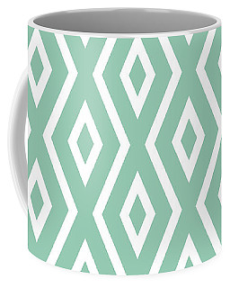 Light Sage Green Pattern Coffee Mug