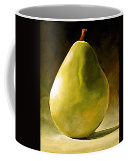 Green Pear Coffee Mug