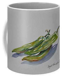 Green Peppers Coffee Mug